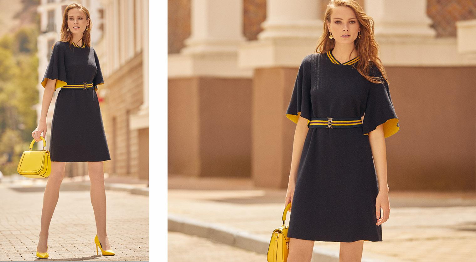 6f5732792dd Благородная фактура одежды новой коллекции ELIS